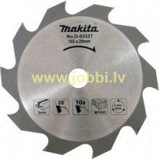 Makita D-03327 zāģripa kokam Ø 165x20mm 10z