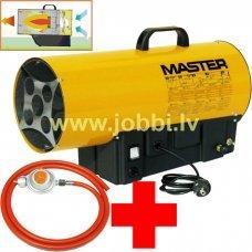 Master BLP 14 M gāzes sildītājs + reduktors, šļūtene