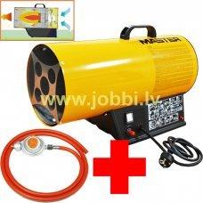 Master BLP 16 M gāzes sildītājs + reduktors, šļūtene