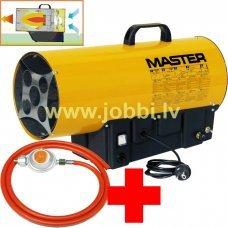 Master BLP 17 M gāzes sildītājs + reduktors, šļūtene