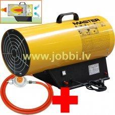 Master BLP 73 M gāzes sildītājs + reduktors, šļūtene