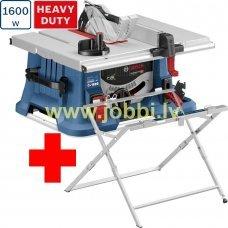 Bosch GTS 635-216 table saw + GTA 560