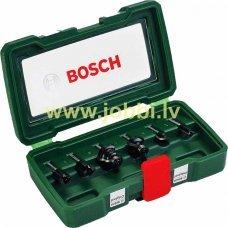 Bosch router bit set (6pcs)