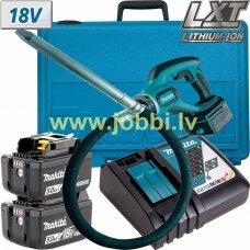 Makita DVR450RTE (2x5,0Ah) concrete vibrator