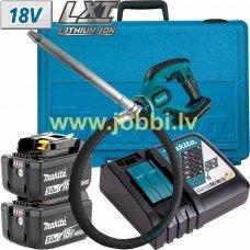 Makita DVR850RTE (2x5,0Ah) concrete vibrator