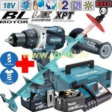 Makita DDF481RTJ 18V (2x5,0Ah) drill / screwdriver + RAPALA