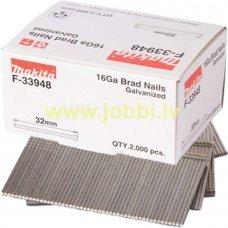 Makita F-33948 nails 16GA 1,6x32mm (2000pcs)