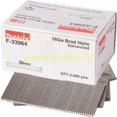 Makita F-33964 nails 16GA 1,6x38mm (2000pcs)